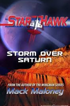 Storm Over Saturn