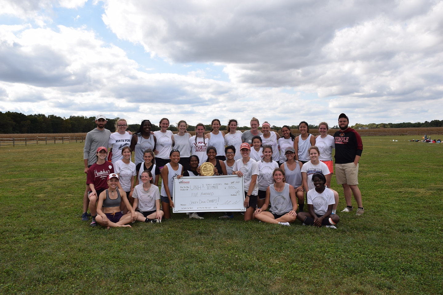 Temple Ultimate Frisbee - Jersey Devil 9