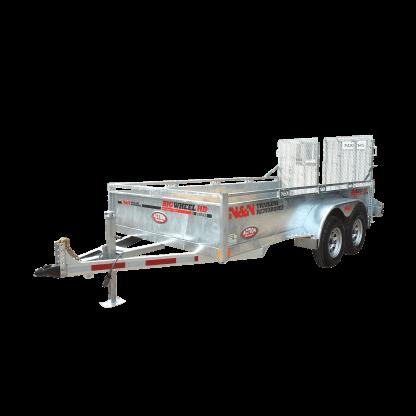 N&N Trailers Big Wheel Series utility trailer