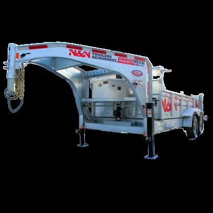 N&N Trailers Gooseneck Series utility trailer