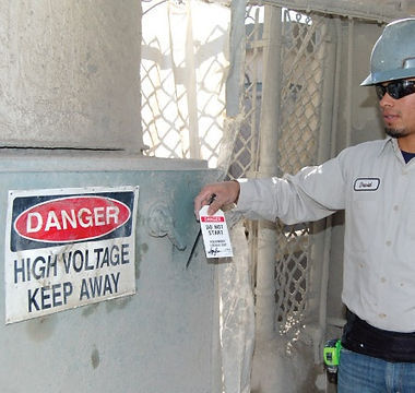 lockout tagout, hazardous energy, energy control,
