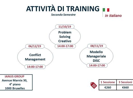 ianusGroup Training & Coaching | Agenda 2019