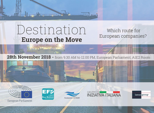 Destination: Europe on the Move | Fondazione CS Mare & Gruppo di Iniziativa Italiana