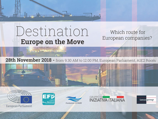 Destination: Europe on the Move | Fondazione CS Mare & Gruppo di Iniziativa Italiana
