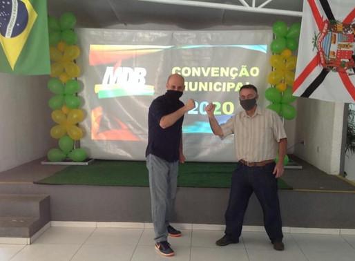Montebello e Vorneis são confirmados pelo Mdb São Roque nas eleições 2020 para prefeito e vice.