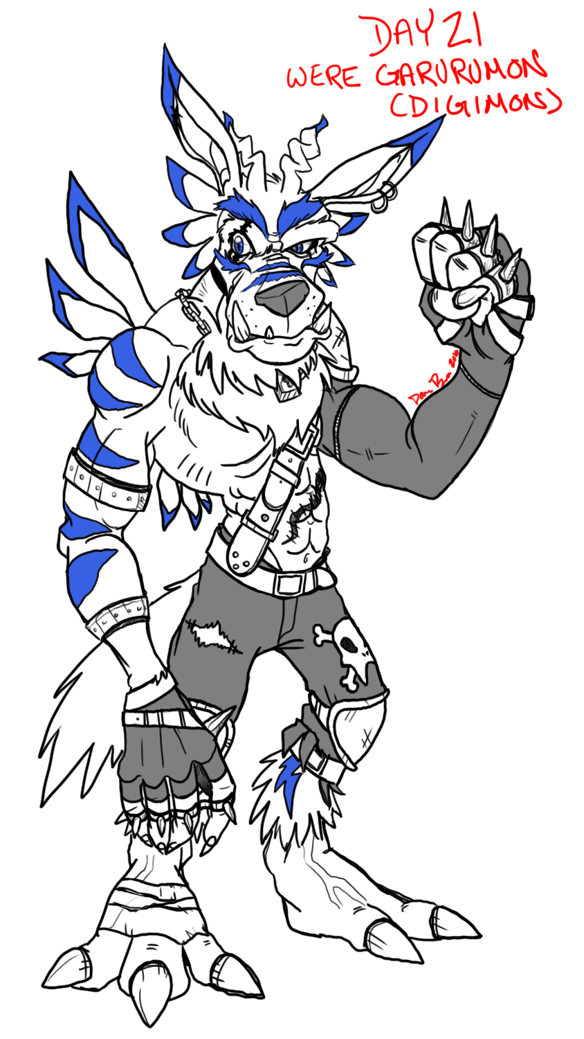 Day21_WereGarurumon