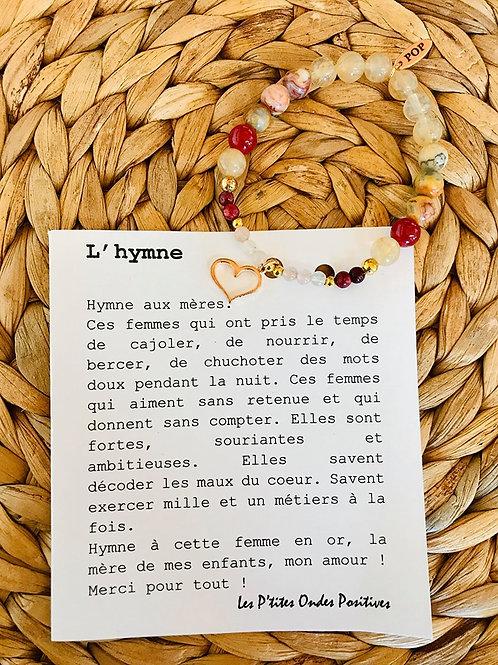 Différents bracelets Les P'tites Ondes Positives
