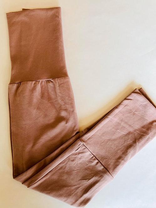 Pantalons évolutifs unis - Petit bois