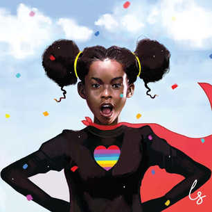 Our Children are Superheroes by Laji Sanusi