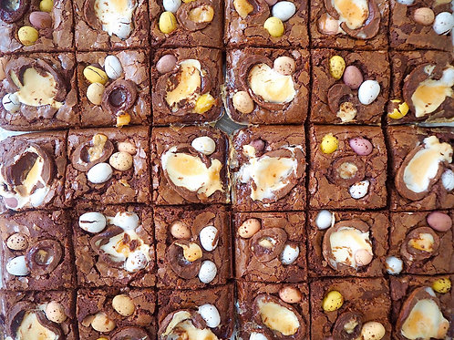 Choose 1 flavour - Box of 9 Brownies