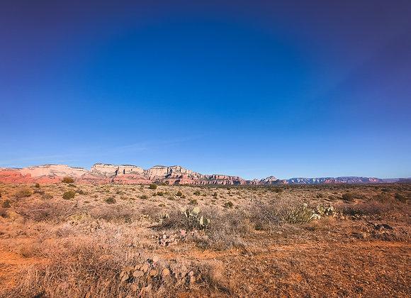 Blue Sky & Desert