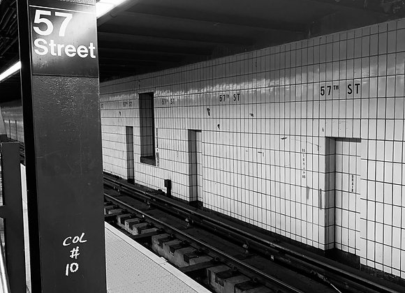 Subway Stop on 57th