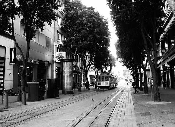 San Fran Trolley Street View