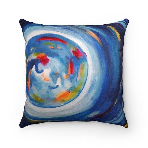 Faux Suede Square Pillow