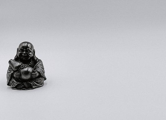 Buddha Sits Alone