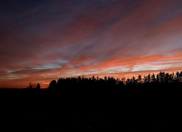 God's Country Sunrise