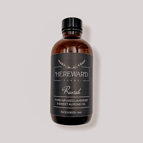 Ravish Infused Lavender + Sweet Almond Body Oil