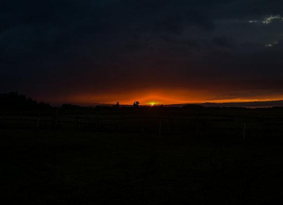 Late Summer Sunset IV(series)