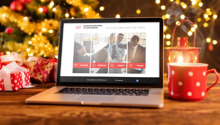 Spark Website Christmas Launch