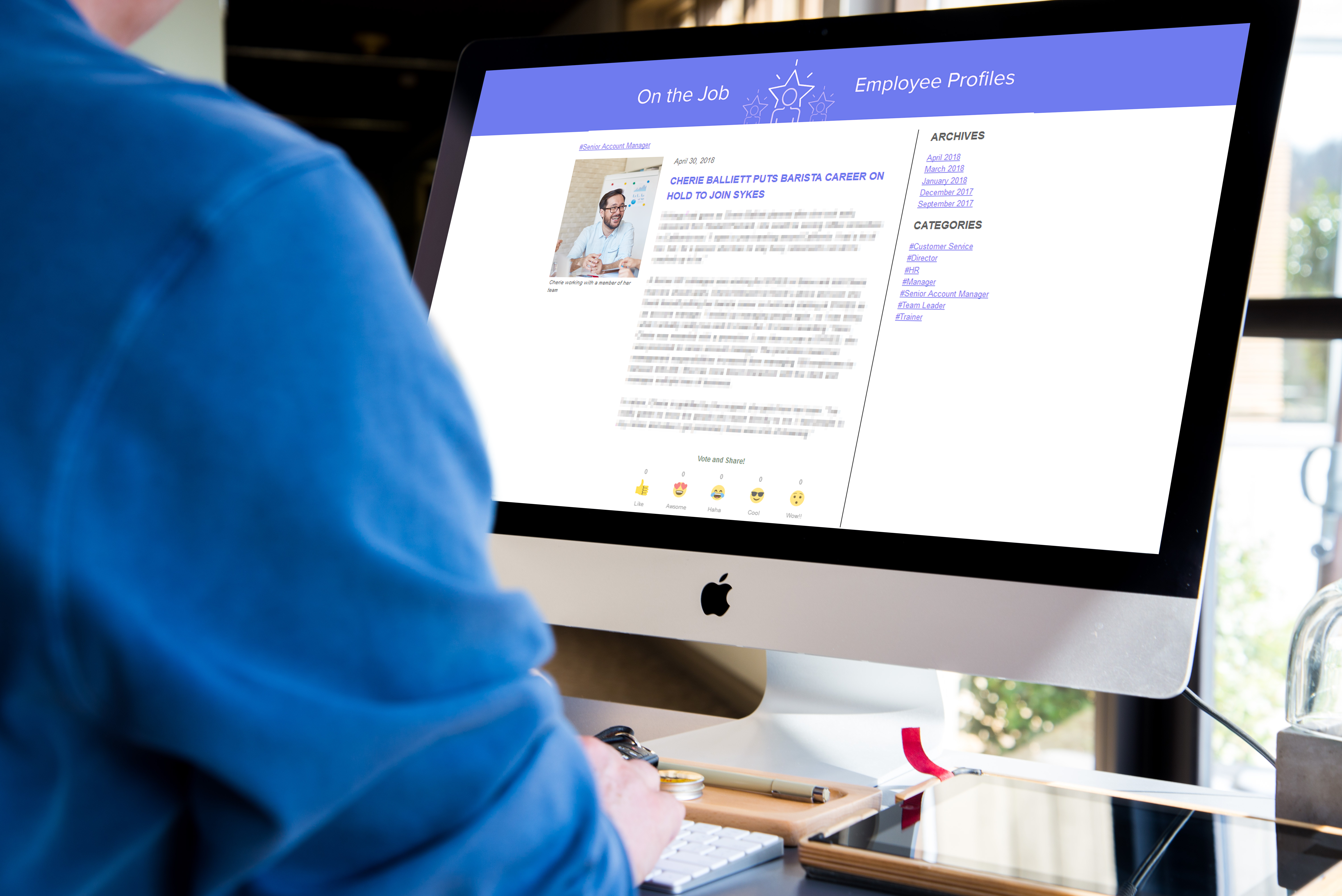 mployee Intranets and Microsites