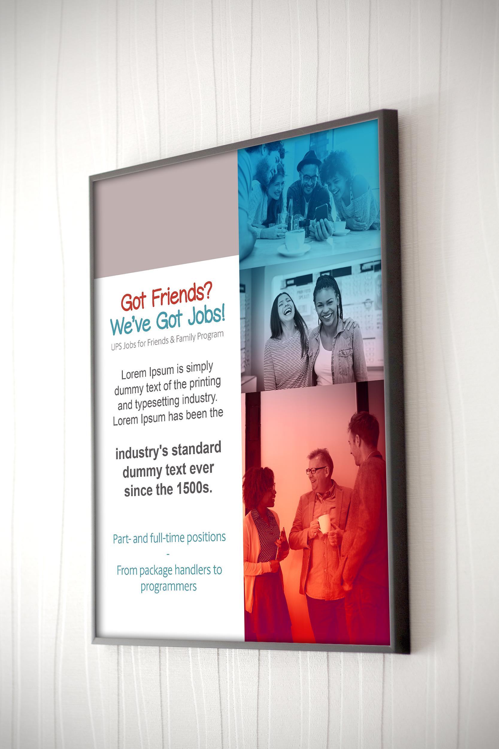 Refer a Friend Signage