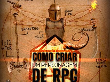 Como Criar um Personagem de RPG | Café na Taverna #20
