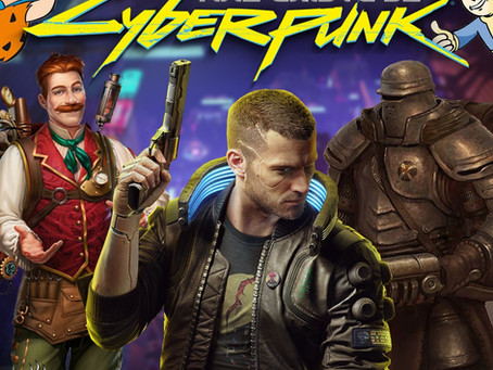 Não Existe Só Cyberpunk | Café na Taverna #17