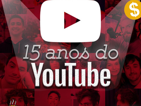 15 Anos do Youtube | Café na Taverna #16