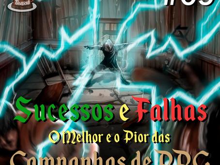 Sucessos e Falhas: O Melhor e o Pior das Campanhas de RPG | Café na Taverna #9