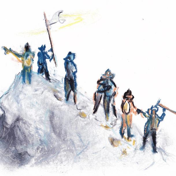 ウィンパー『アルプス登攀記』