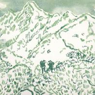 日本山岳会パンフレット表紙