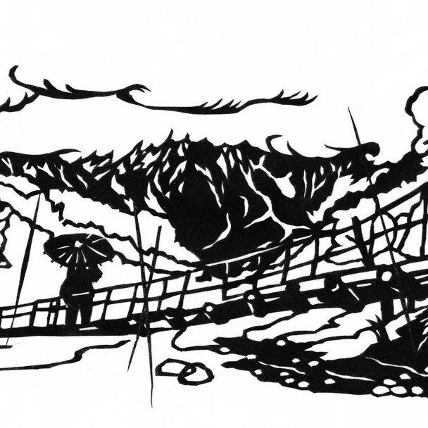 寺田寅彦『雨の上高地』