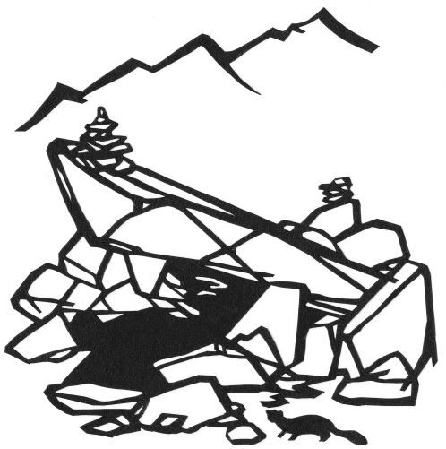 大島亮吉『涸沢の岩小屋のある夜のこと』