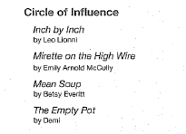 Circle of Influence Books