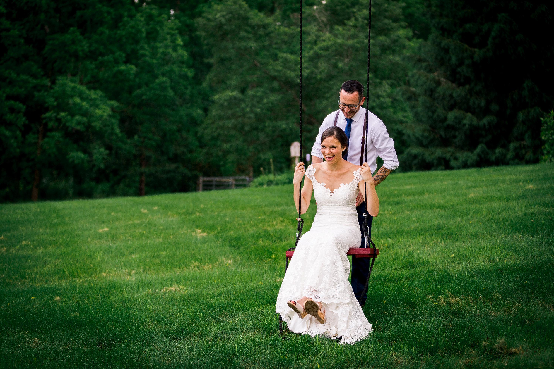 Katie&Andrew swing