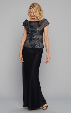 Siri Soft Shldr Top Olympia & Skirt