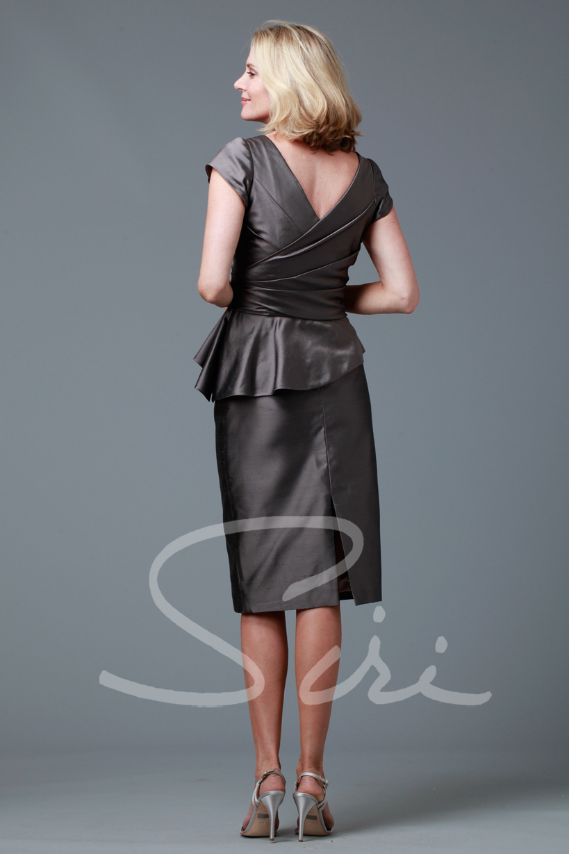 Siri  Dietrich Top / Back Slit Skirt (long)