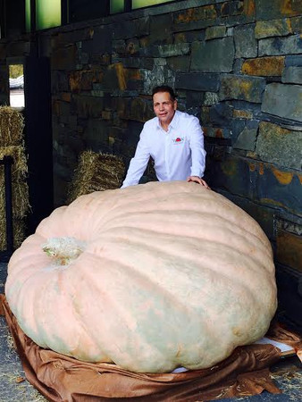 How a Gilroy company is helping Giant Pumpkin Growers and California Farmers Fight the Drought
