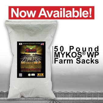 MYKOS WP 50lb Farm Sacks