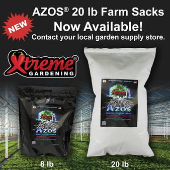 New AZOS 20 lb Farm Sacks