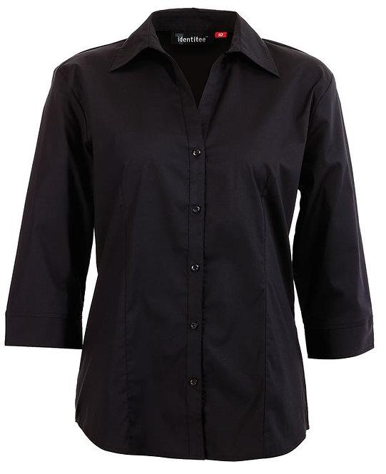 LADIES 3/4 SHIRT BLACK (DELI & FLOOR STAFF)