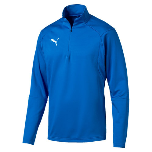 PUMA LIGA TRAINING 1/4 ZIP ROYAL BLUE