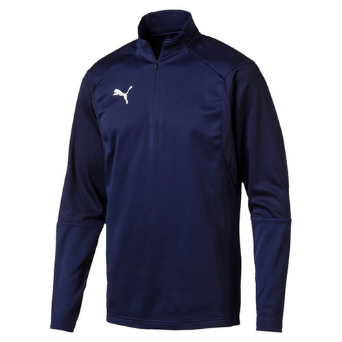 PUMA LIGA TRAINING 1/4 ZIP NAVY