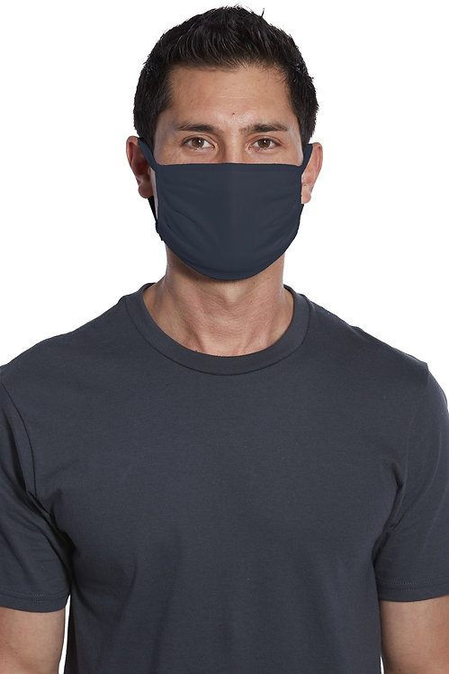 COTTON WASHABLE FACE MASK NAVY