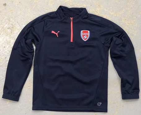 EASTS FC PUMA MID LAYER PULL-OVER YOUTH NAVY