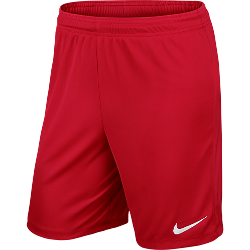 NIKE PARK II KNIT SHORT RED