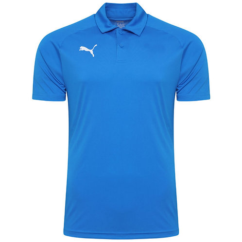 PUMA LIGA SIDELINE POLO ROYAL BLUE