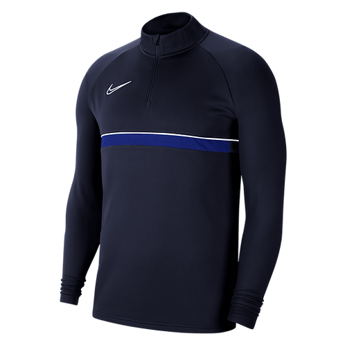 NIKE DRI-FIT ACADEMY DRILL TOP NAVY