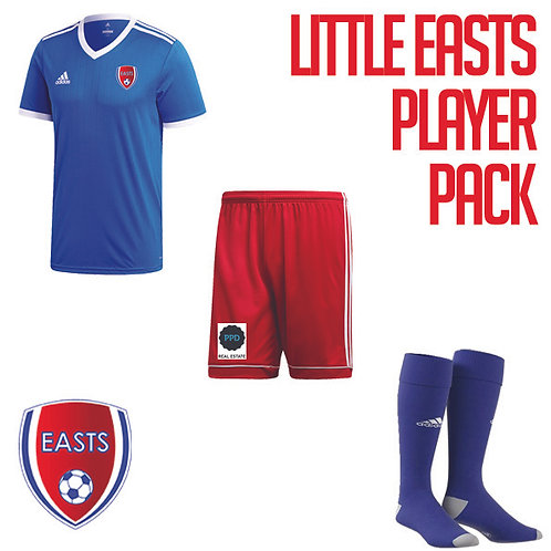 LITTLE EASTS PLAYER PACK size 5-6Y