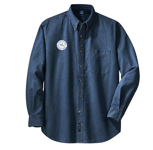 LONG SLEEVE DENIM SHIRT MENS (FRUIT & VEG STAFF)